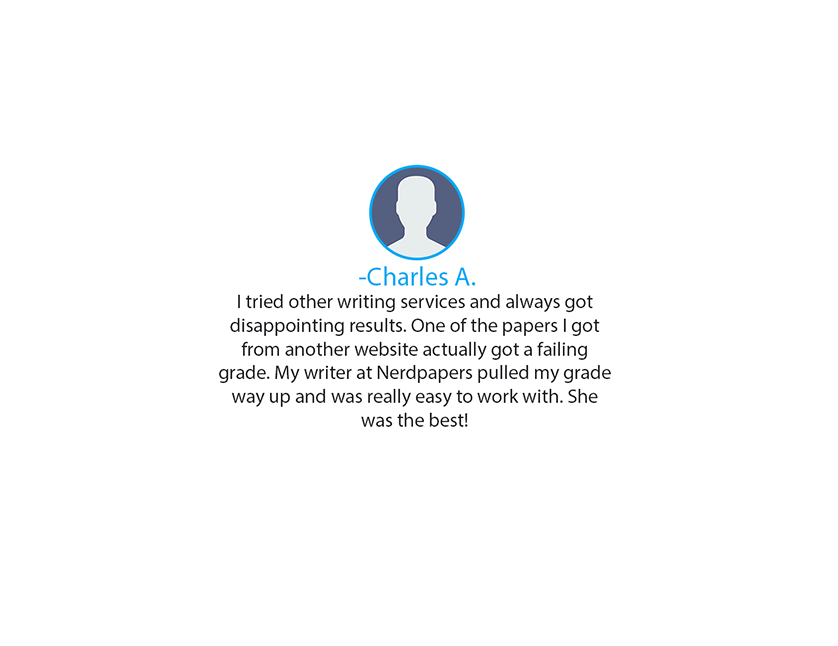 Testimonial for Thesis Writing - Essay Writing Service - NerdPapers